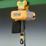 Star Liftket hoist with push travel trolley