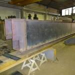 Box girder beam