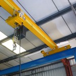 Crane fitted with Liftket hoist