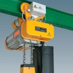 Star Liftket hoist with 2 speed travel trolley
